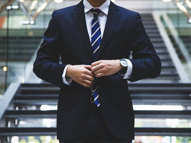 プロテクトウッド(SIAA認定品)- 某紳士服メーカーのスーツ